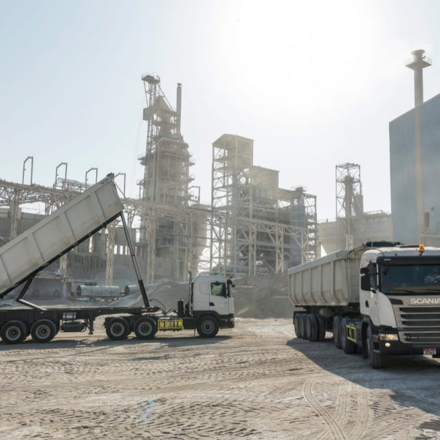 Super Cement Manufacturing Company | Scania Middle East - Gulf Region