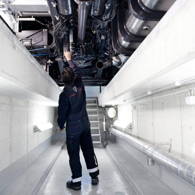 Heavy Vehicle Inspection Station Scania Australia