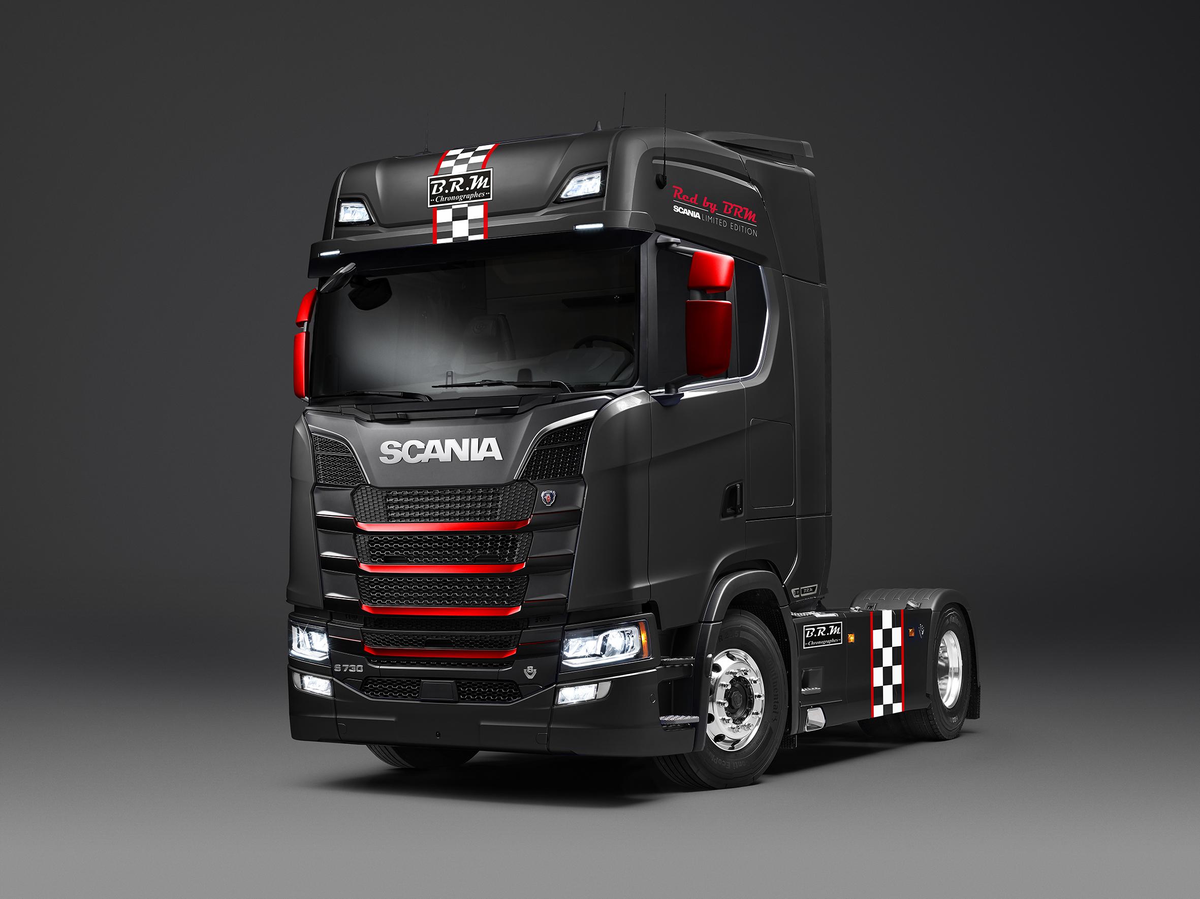 Deux S 233 Ries Limit 233 Es Scania Brm Scania France