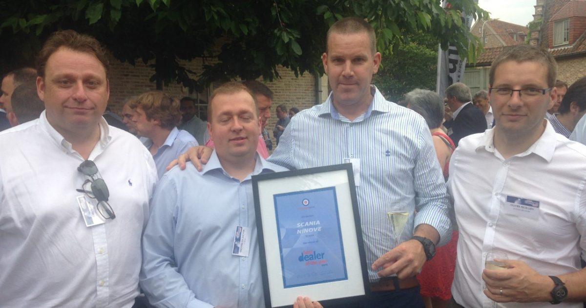Scania Ninove Wint De Prijs Best Dealer Of The Year Een
