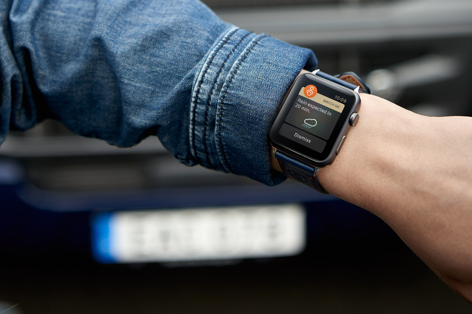 The Scania Edition of the Apple Watch