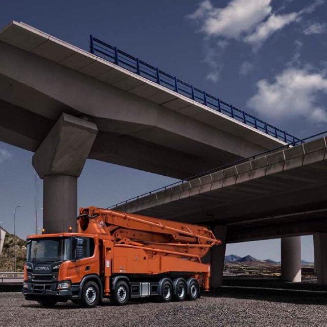 Concrete pump trucks | Scania Great Britain