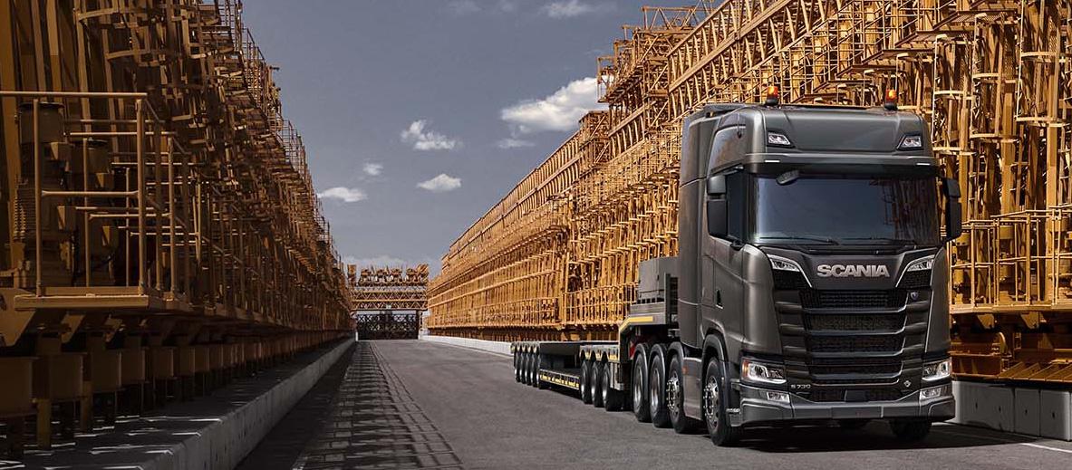 Heavy haulage | Scania Global