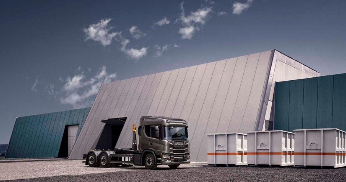Hooklift Scania Australia