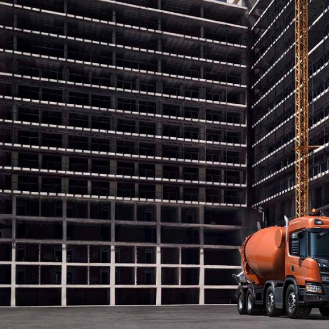 Mixer trucks | Scania Great Britain