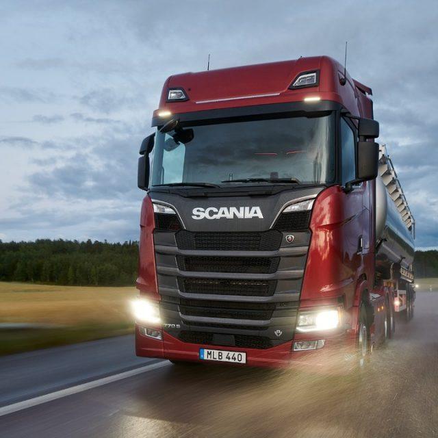 V8 configuration | Scania Global