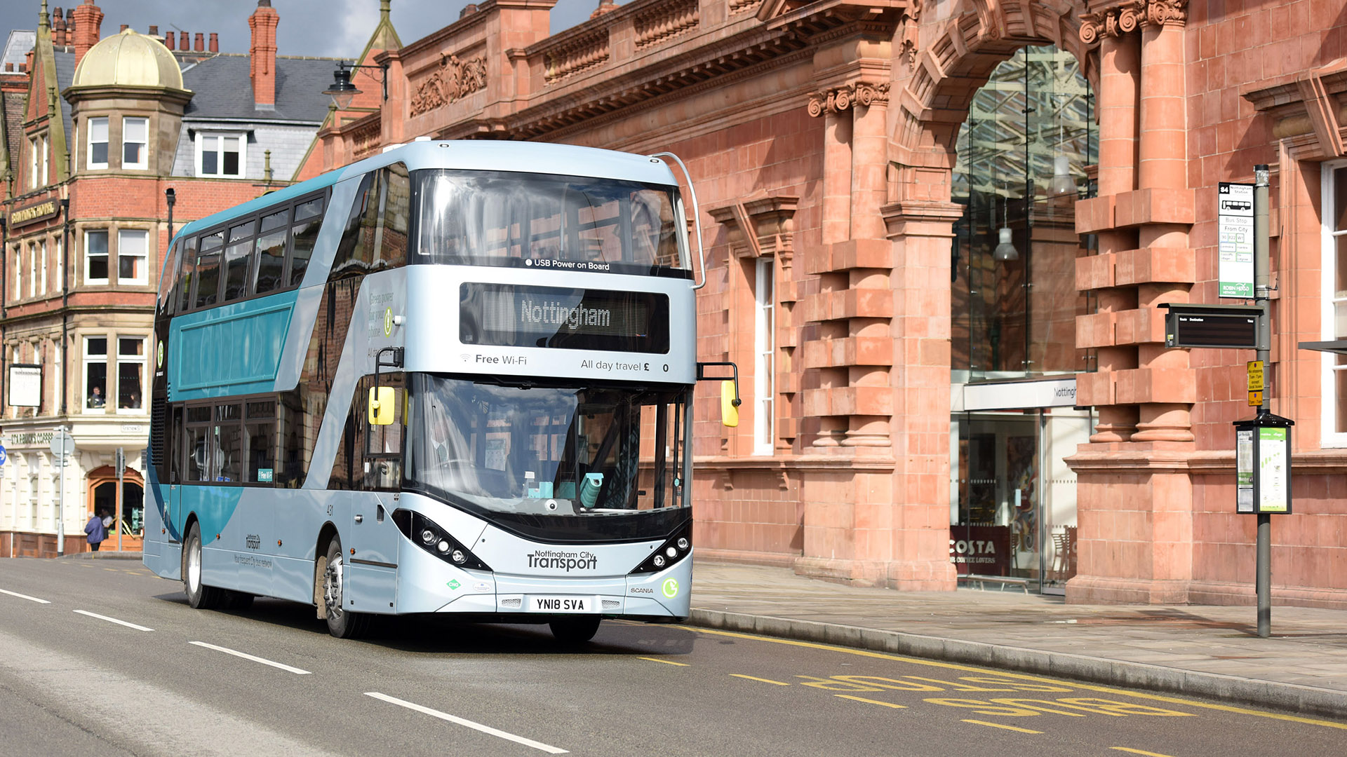 Scania And Adl Complete Delivery To Nottingham City Transport Scania Great Britain