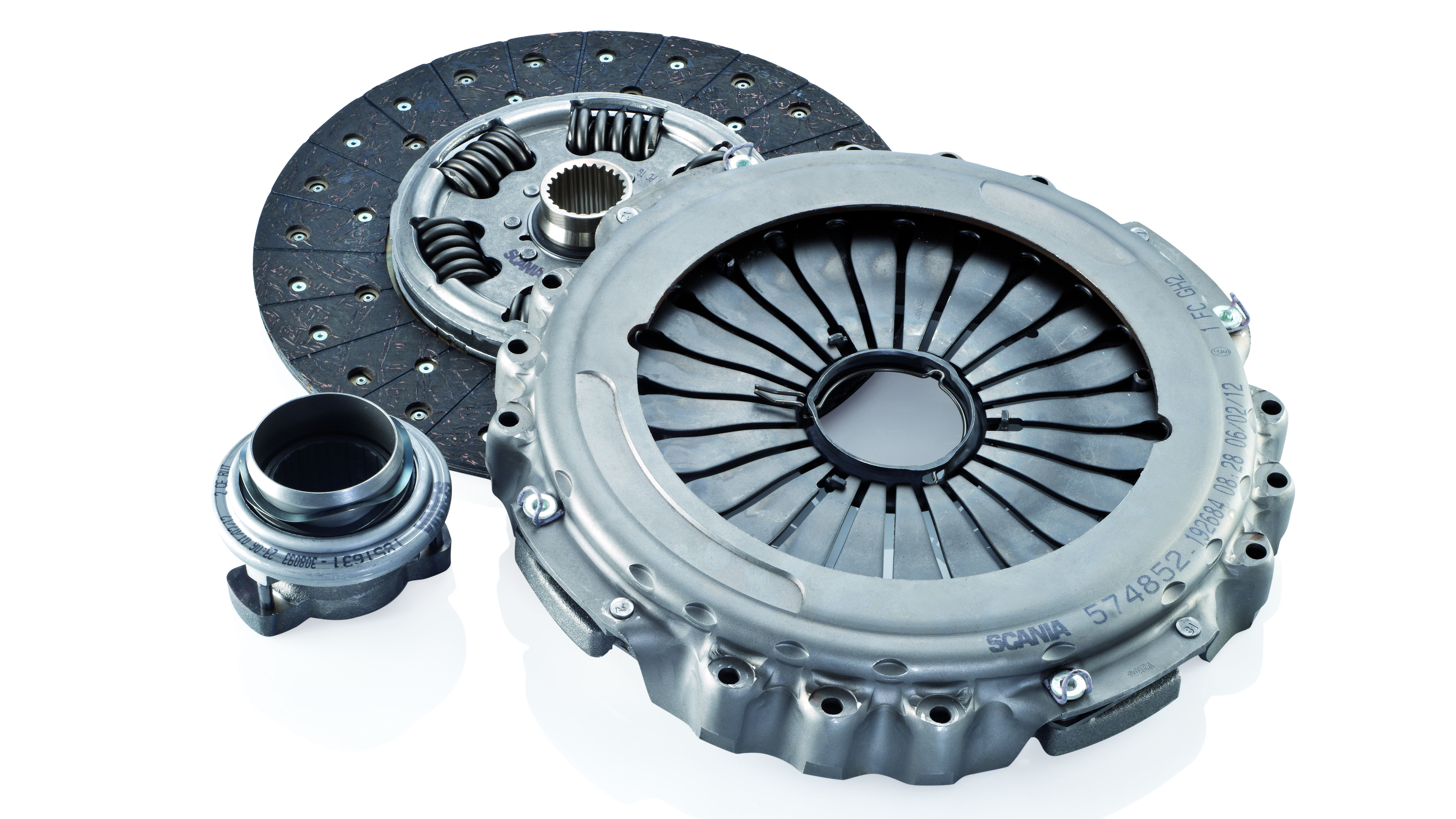 Clutch kit from Scania