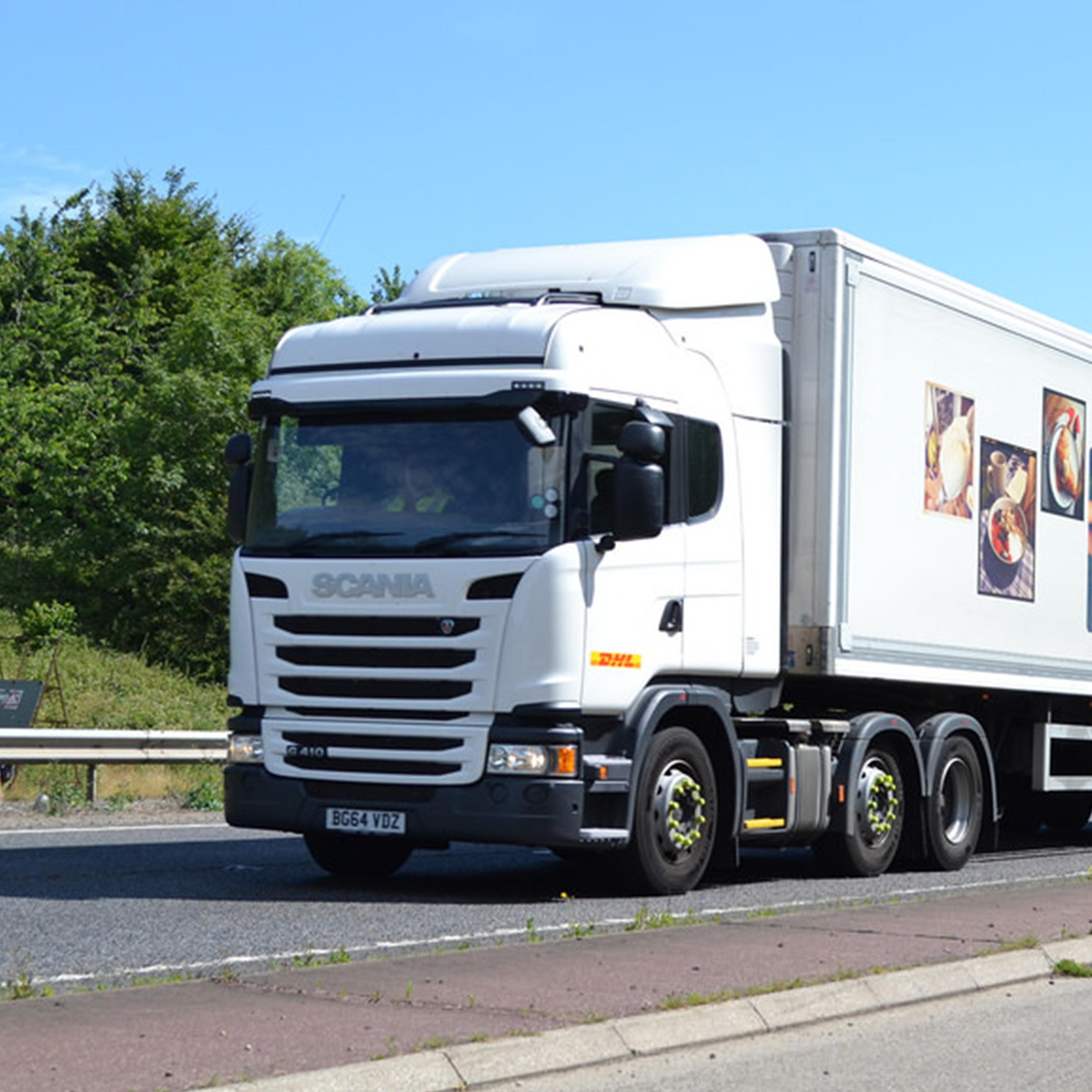 30 new scania g410 trucks for dhl