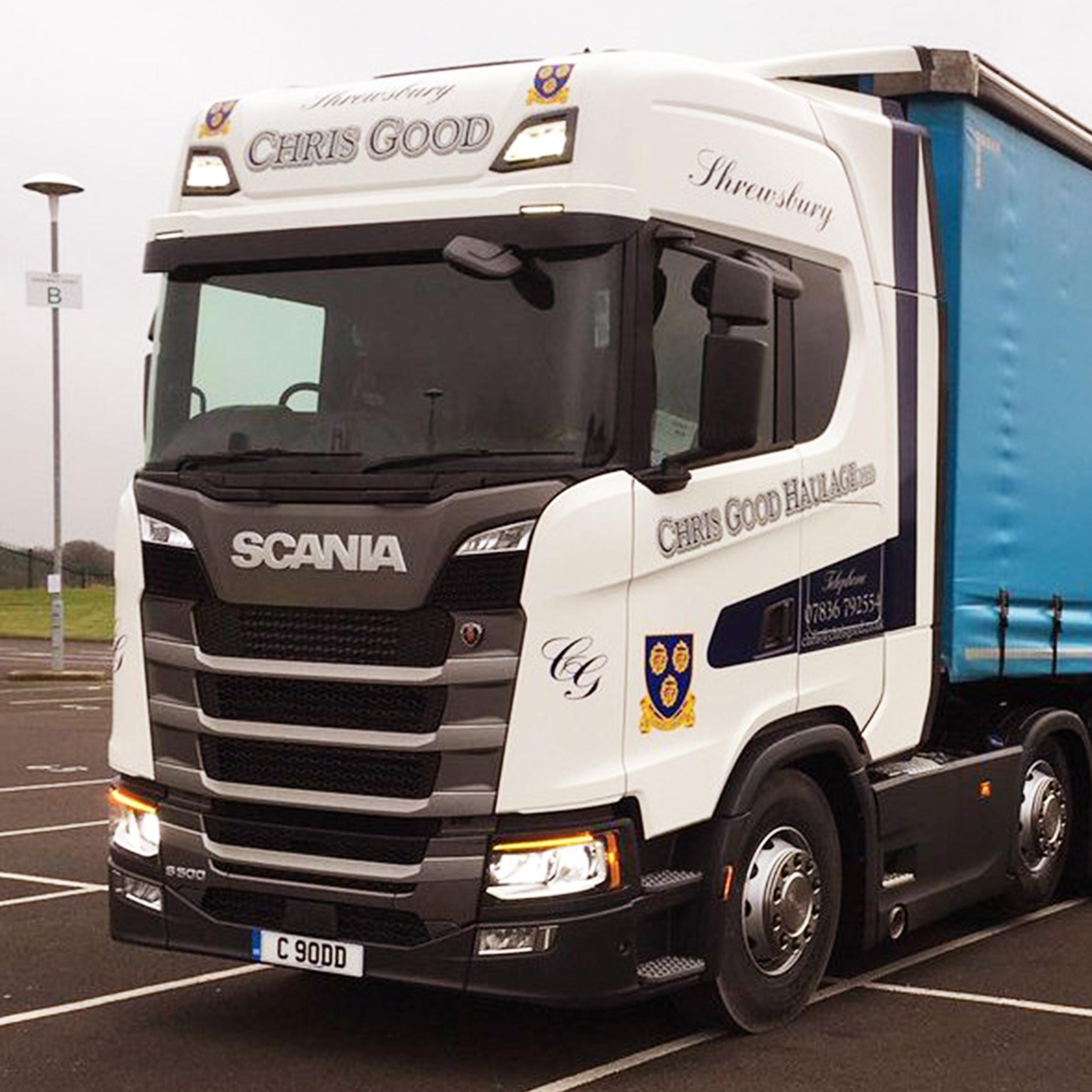West pennine trucks delivers first uk next gen s series to chris good haulage