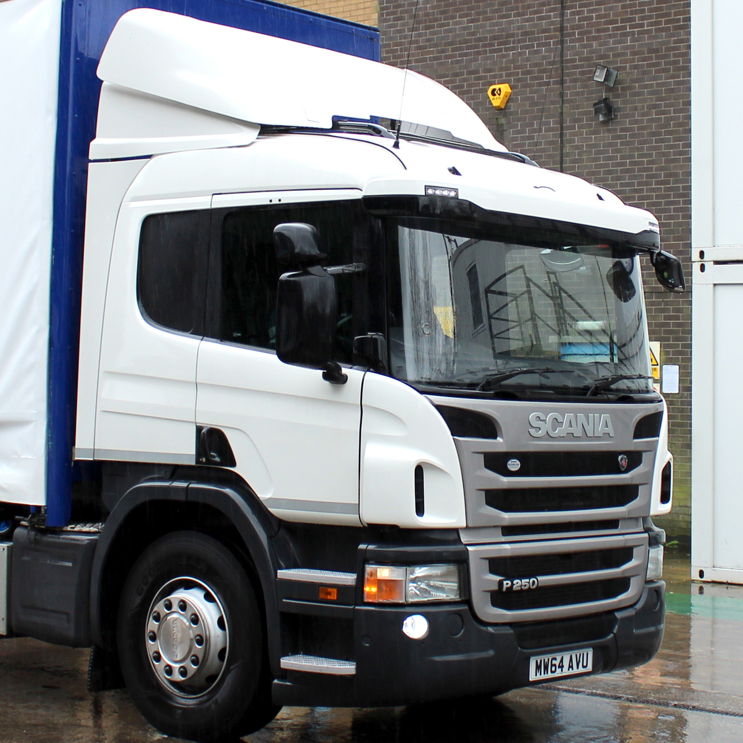 Used trucks are first choice for service warehousing